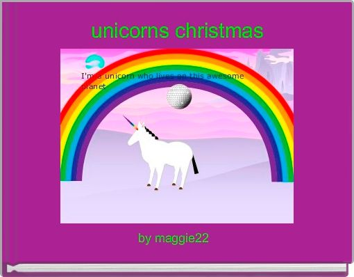 unicorns christmas