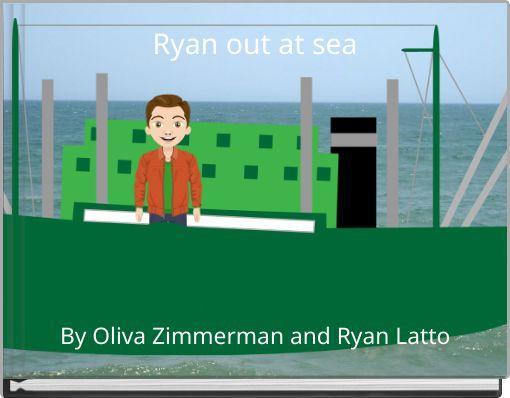 Ryan out at sea