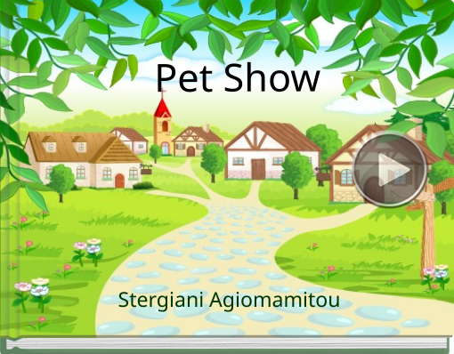 Book titled 'Pet Show'
