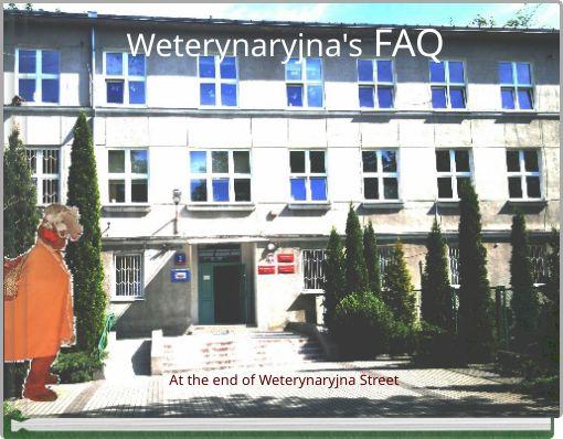 Weterynaryjna's FAQ