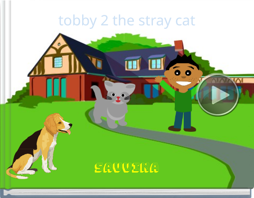 Book titled 'tobby 2 the stray cat'