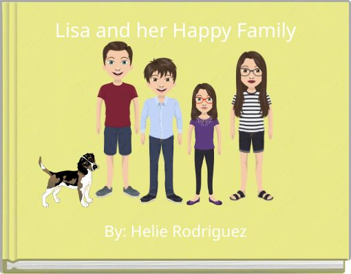 Lisa and her Happy Family