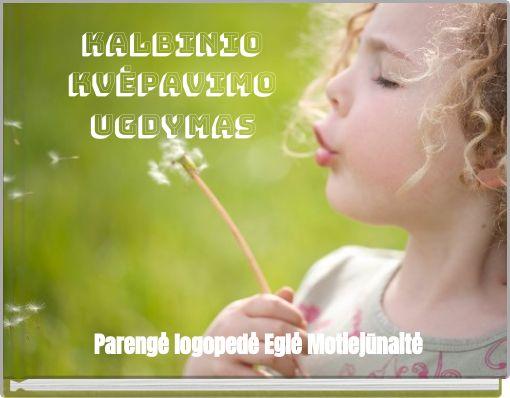 Kalbinio kvėpavimo ugdymas