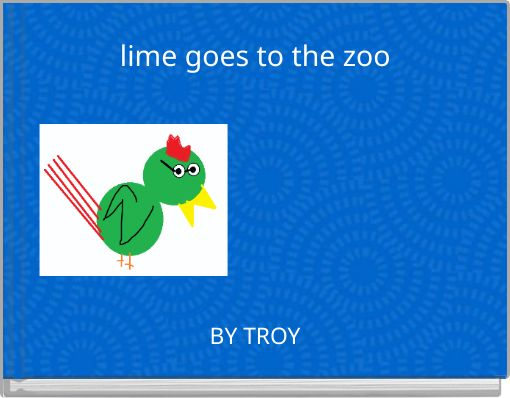lime goes to the zoo