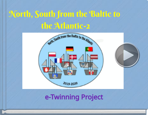Book titled 'North, South from the Baltic to the Atlantic-2'
