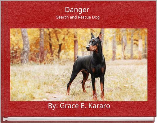 Danger Search and Rescue Dog