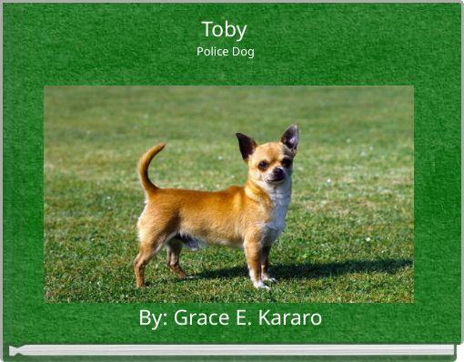 Toby Police Dog