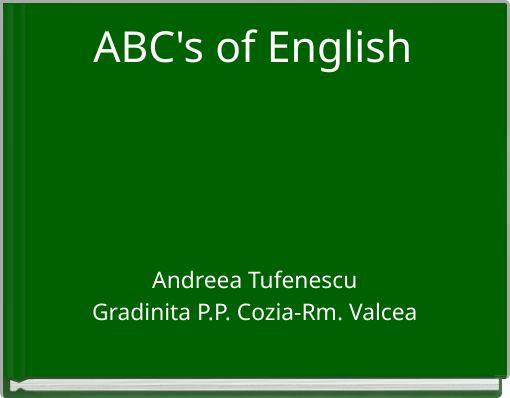 ABC's of English