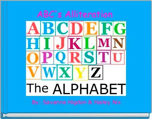 ABC's Alliteration