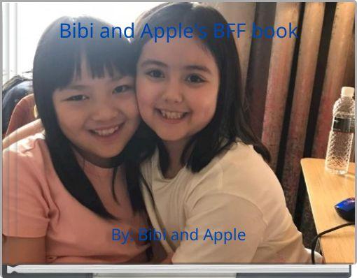 Bibi and Apple's BFF book