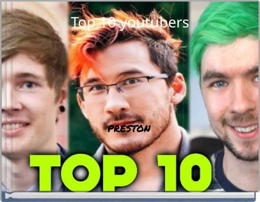 Top 10 youtubers