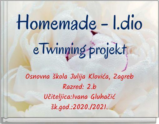 Homemade - 1.dioeTwinning projekt