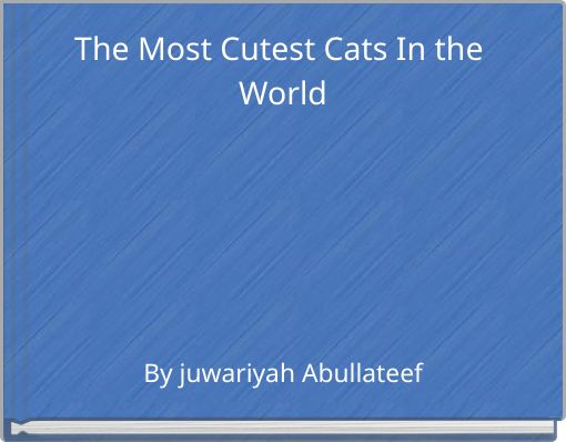 The Most Cutest Cats In the World