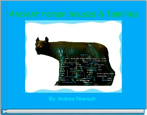 Ancient roman houses & families