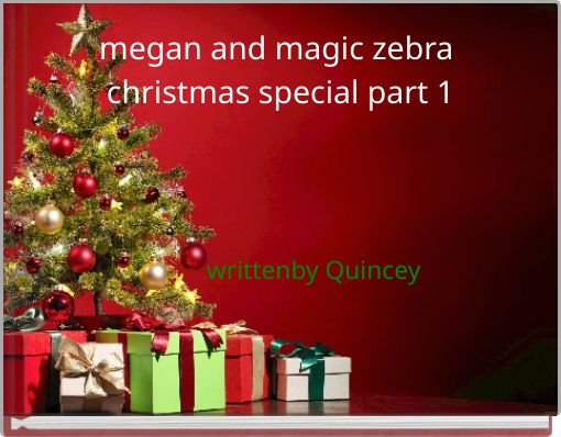 megan and magic zebra christmas special part 1