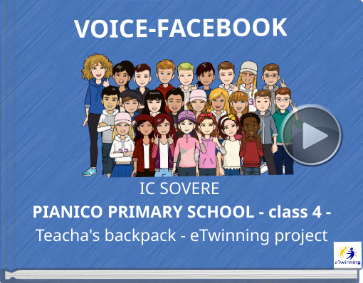 Book titled 'VOICE-FACEBOOK'