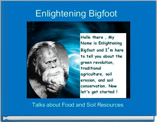 Enlightening Bigfoot