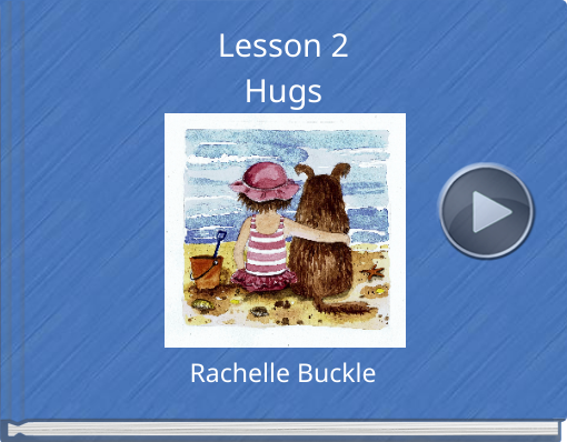 Book titled 'Lesson 2Hugs'