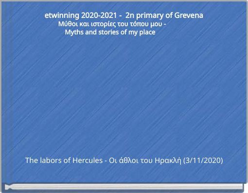 etwinning 2020-2021 - 2n primary of Grevena     &nbs
