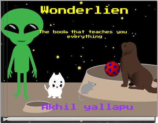 Wonderlien The book that teaches you everything