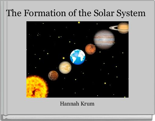 The Formation of the Solar System