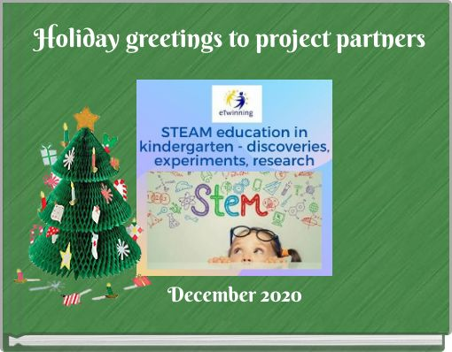 Holiday greetings to project partners