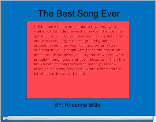 The Best Song Ever
