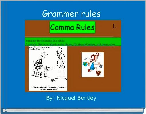 Grammer rules