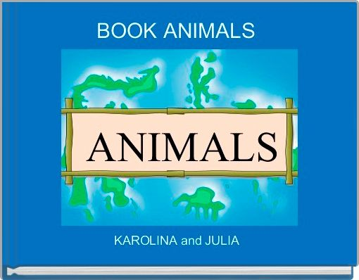 BOOK ANIMALS