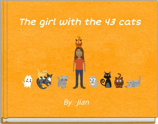 The girl with the 43 cats