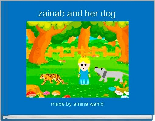 zainab and her dog