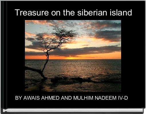 Treasure on the siberian island