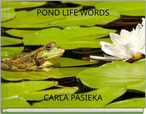 POND LIFE WORDS