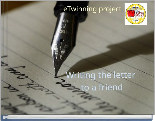 Writing the letterto a friend